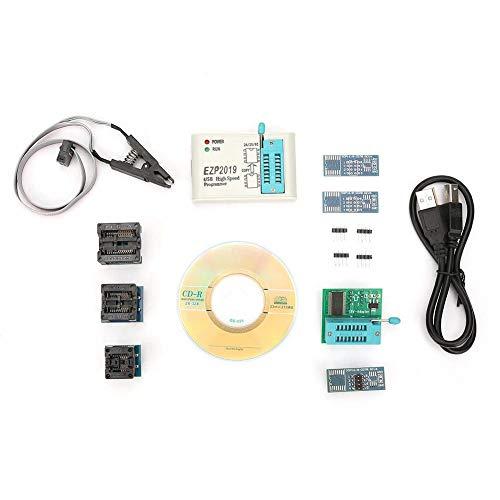 EZP2019 USB-Programmeur, High Speed USB EEPROM Flash-Programmeur voor 24 25 93 Bios Met Offline Kopieerfunctie…