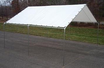 Canopy - Heavy Duty 17 Gauge Frame - White & Amazon.com : 18 ft. X 20 ft. Canopy - Heavy Duty 17 Gauge Frame ...