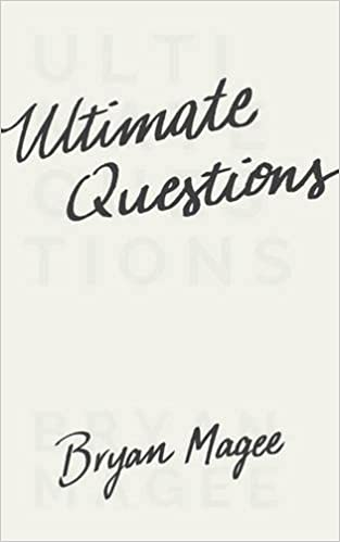 Ultimate Questions: Bryan Magee: 9780691170657: Amazon com: Books