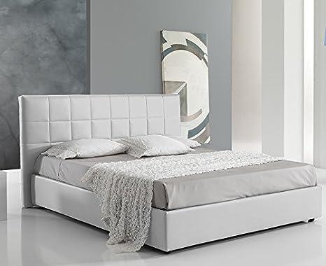Dormire meglio letto imbottito matrimoniale con contenitore