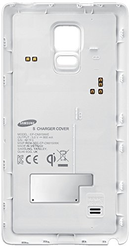 Samsung Wireless Charging Qi Cover for Galaxy Note Edge - Retail Packaging - Frost White