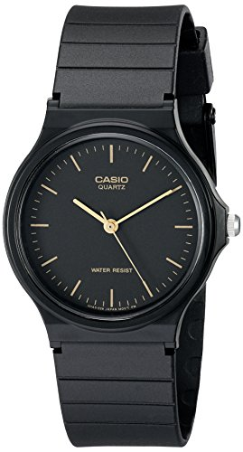 Casio Men's MQ24-1E Black Resin Watch Watches