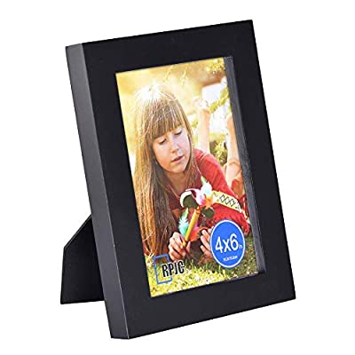 RPJC Picture Frame Made of Solid Wood High Definition Glass