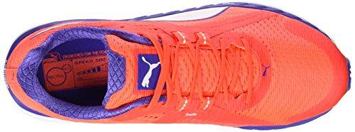 Puma Speed 500 Ignite - Zapatillas de running Mujer Rojo (Red Blast-Royal Blue-White 01 )