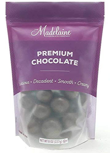 Madelaine Premium Milk Chocolate Covered Malt Balls - Malt Center Drenched In Creamy Milk Chocolate (1/2 LB) - Chocolate Covered Malt Balls