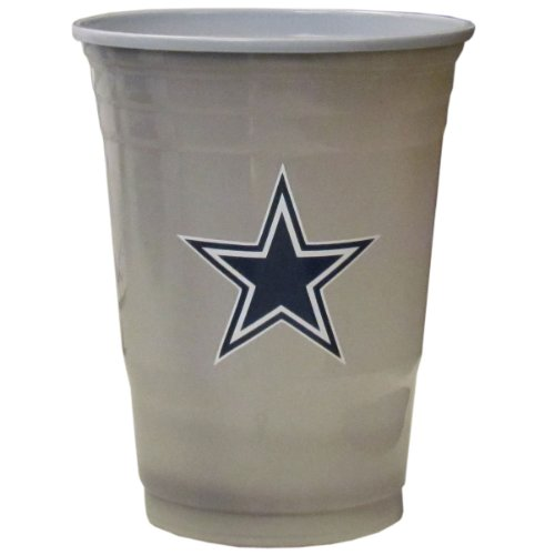 NFL Dallas Cowboys Game Day Cups (18-Ounce, 18 count) (Game Day Cup)