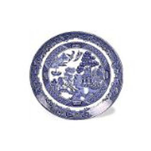 Johnson Brothers Dinnerware Saucer, Willow Blue, Individual by Johnson Brothers