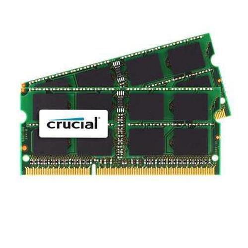 x2) DDR3/DDR3L 1333 MT/s (PC3-10600) SODIMM 204-Pin Memory For Mac - CT2K4G3S1339M ()