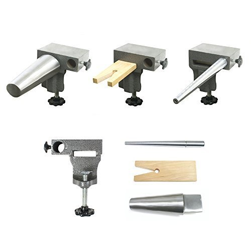 Bench Anvil Combo Kit- Bracelet and Ring Mandrels, Anvil - SFC Tools - 13-132