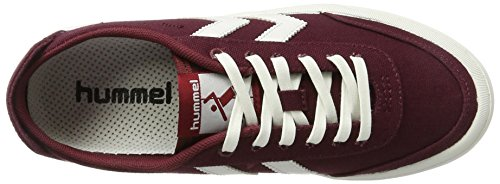 Hummel Adulte Basses Summer Mixte Sneakers Rouge Stockholm cabernet Low YWOY4fwrq1