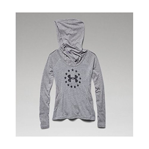 Orchid Tri (Under Armour Women's UA Freedom Tri-Blend Hoodie Deep Orchid SM (US 4-6))
