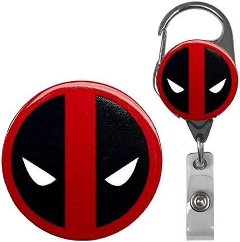 Deadpool Longe Avec Logo Charme Et Sleeve ID