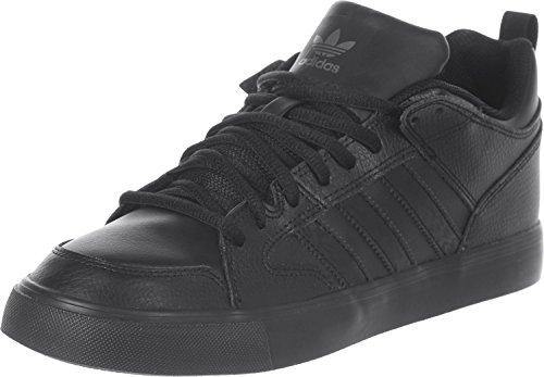 adidas Herren Varial II Low Sneakers, Bunt, 39 EU Schwarz (Negbas/Negbas/Negbas)
