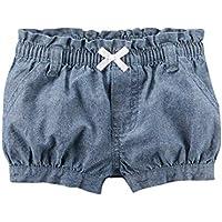 Carter's Baby Girls' Chambray Bubble Shorts