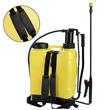 ZEARO portátil presión pulverizador mochila de mano 20L jardín Yard campo Weed planta químico verde: Amazon.es: Bricolaje y herramientas