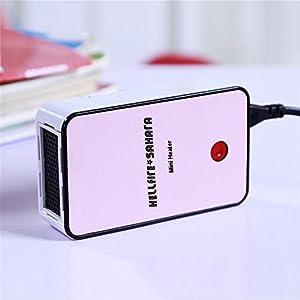 Mini Heizlüfter Hellfire Sahara I-one Design-Fan - Top Produkt *Wintertrend*...