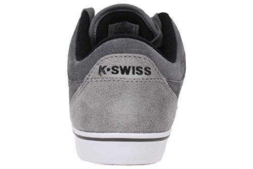 K-Swiss Alvary SDE VNZ - Zapatillas de cuero hombre gris