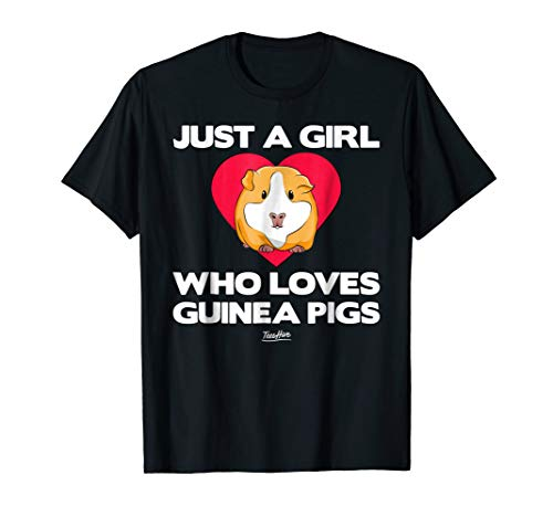 Just A Girl Who Loves Guinea Pig Tshirt