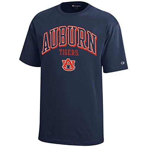 NCAA Champion Boy's Short Sleeve Jersey T-Shirt Auburn Tigers Small