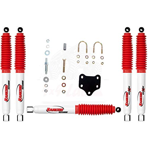 Rancho RS5000 Hydro Shocks & Stabilizer for Ford F-350 SD 4WD 1999-2004