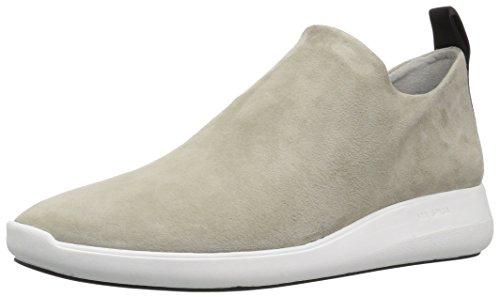 Via Spiga Womens Marlow Slip on Sneaker Cement Suede