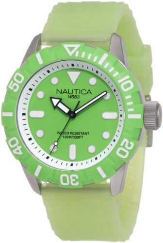 - Nautica Men's N09605G South Beach Jelly NSR - 100  Watch