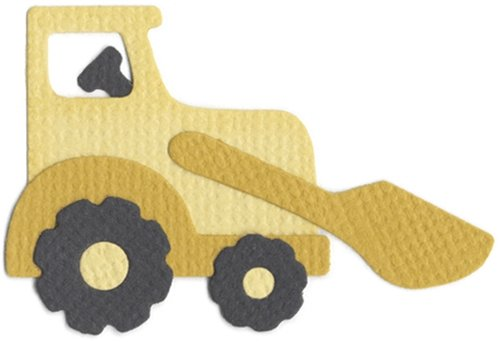 We R Memory Keepers KS-0871 2 by 2-Inch Dies, Front End Loader Tractor by QUICKUTZ B001CDXNJO