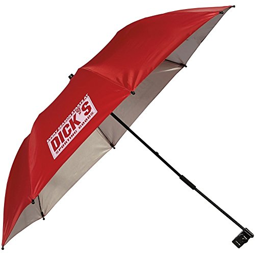 Price comparison product image Dicks Sporting Goods Chairbrella Umbrella Shade for Folding Chairs (Red) - UMBRELLA ONLY