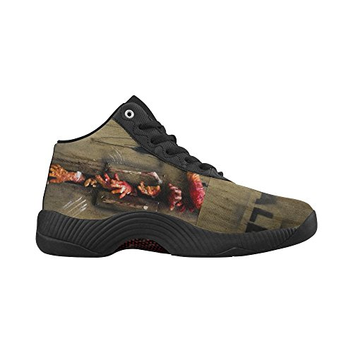 D-Story Zombie Hand Through The Door Basketball Shoes Running Shoes Boost Sneakers oSbBpy1f