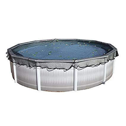 Leaf Net Winter Pool Cover for a 28\' Round Pool (Cover is 31\')