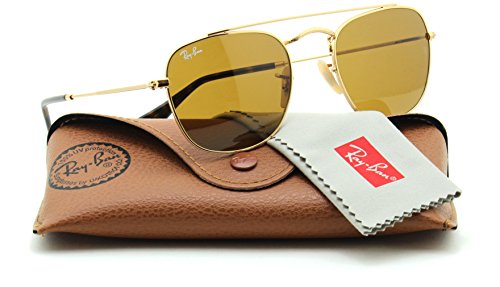 Ray-Ban RB3557 Unisex Sunglasses Brown Classic 001/33, - Rb3557