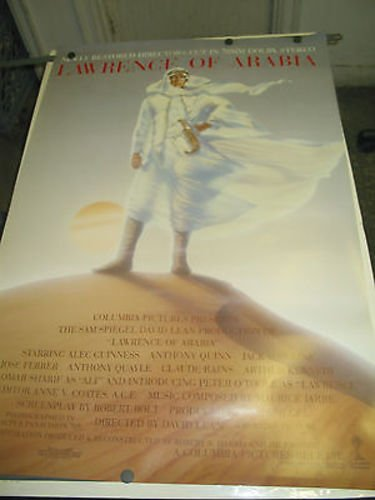 LAWRENCE OF ARABIA / REISSUE 1989 ONE-SHEET MOVIE POSTER (PETER O'TOOLE)