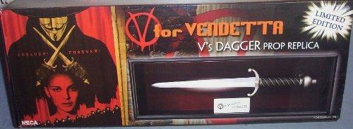 NECA V For Vendetta Limited Edition Prop Replica Vs Dagger -