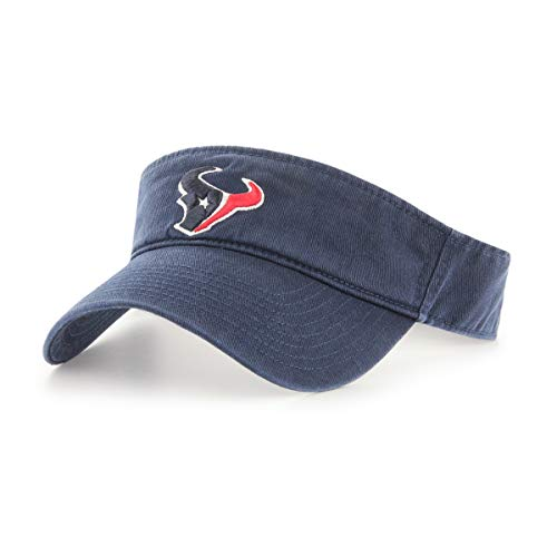 OTS NFL Houston Texans Male Visor, Navy, One Size