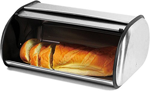 stainless steel 2 loaf bread box - 8