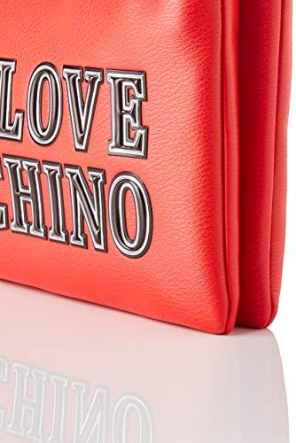 Love Moschino dam JC4237PP0BKG0500 axelväska, röd, normal