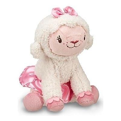 """Authentic Disney Mini Plush - Disney jr DOC MCSTUFFINS mini plush beam lamb LAMBIE 7"""" the lamb lamby doll toy: Toys & Games"""