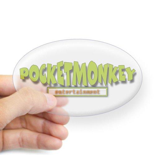 CafePress Pocketmonkey Oval Sticker Sticker Oval - Standard