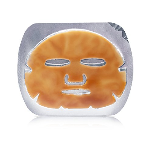 Celebrity Favorite: Anti-Aging Perk Up Your Face Caffeine Dermis Mask Reduce Dark Circles, Puffiness, & Wrinkles (Contains 12 - Celebrity Favorites