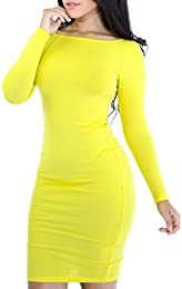 Amazon.com: Yellow - Dresses / Clothing: Clothing Shoes &amp Jewelry