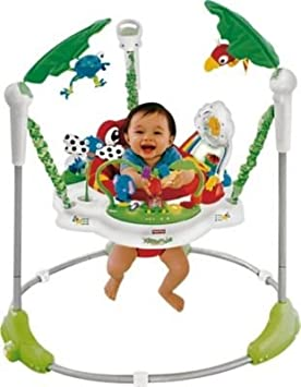 458e49d02d0 Ideal Fisher-Price Rainforest Jumperoo Baby Bouncer - Cleva® Bundle Edition