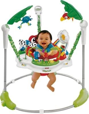 6adf32853 Ideal Fisher-Price Rainforest Jumperoo Baby Bouncer - Cleva® Bundle ...