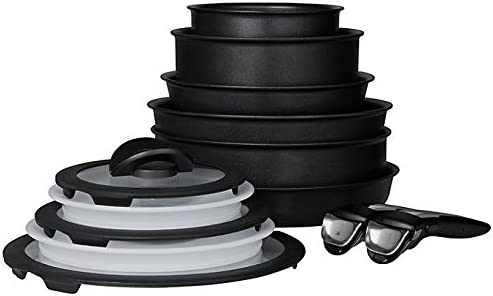 Tefal Ingenio 13 Piece Induction Compatible Pan Set with Handles ~ITEM #GH8 3H-J3//G8340634 T-Fal