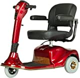 Golden Technologies Companion Scooter in Vermillion Red