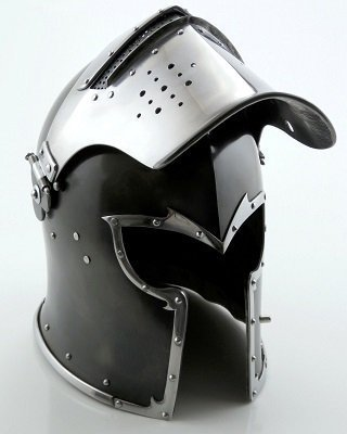 Thor Visored Barbuta Helmet Armour
