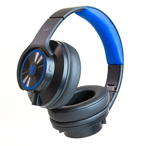 Bluetooth Wireless Headphones that Transform Into Speakers Headphone Black (FHBINCBK3)