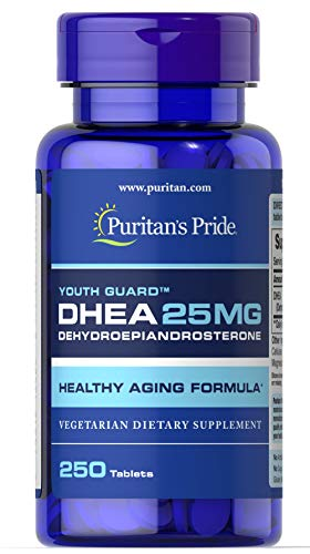 Puritans Pride DHEA mg 250 Tablets