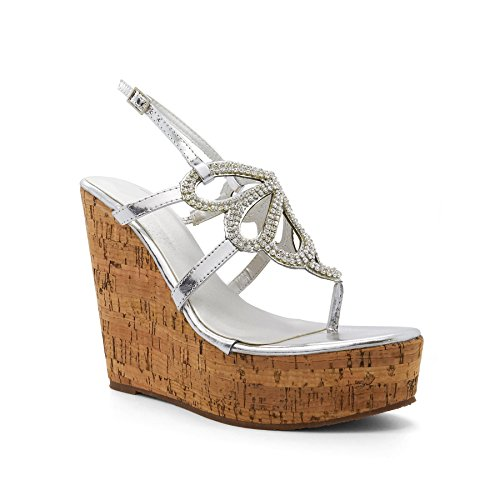 London Footwear , Semelle compensée femme new