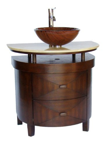"32"" Vessel Sink Bathroom Vanity - Model # BWV-026 Verdana"