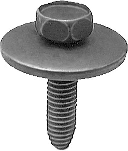 50 6-1.0 X 25mm Metric Hex Head Sems Bolts 11503982